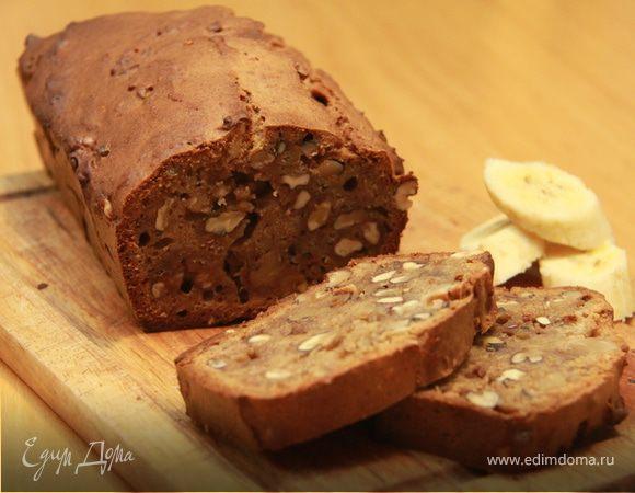 Бананово-амарантовый хлеб