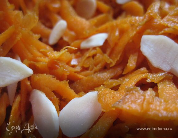 Острая закуска из морковки