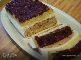 """Торт-Десерт """"Ягодное облако"""" с йогуртовым кремом"""