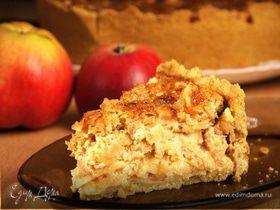 Медовый яблочный пирог