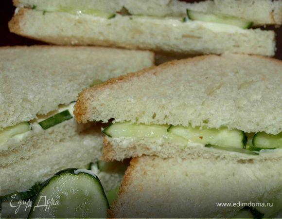 Сэндвич с огурцом по‑английски