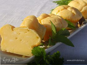 Быстрые сырные кексы