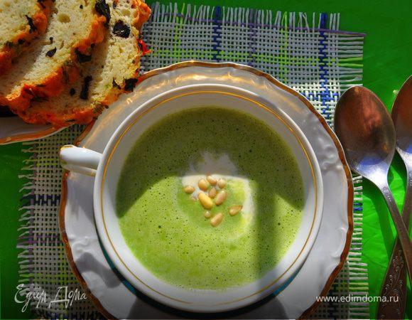 крем суп из шпината замороженного рецепты