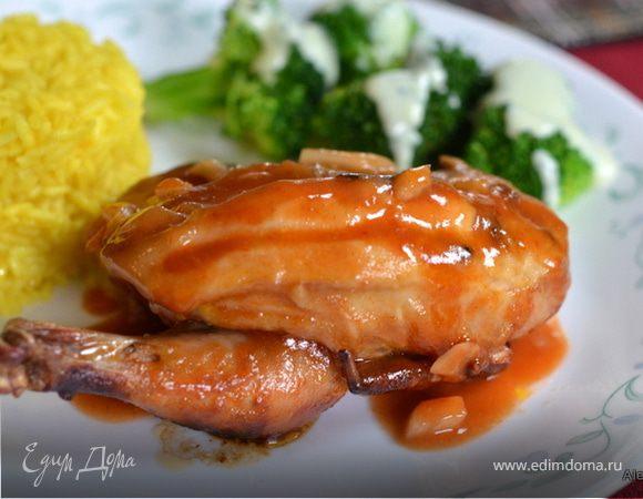 Цыпленок барбекю