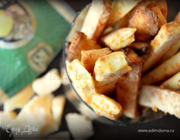 Хрустящие палочки с чесноком и сыром Джюгас