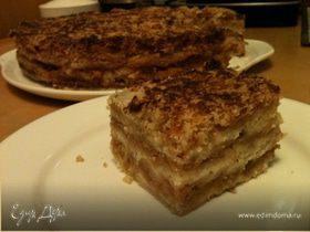Пирог яблочный насыпной