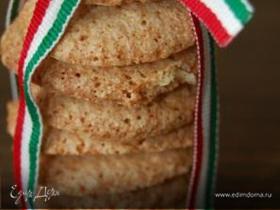Итальянское ореховое печенье