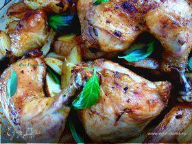 Курица c паприкой и чесноком