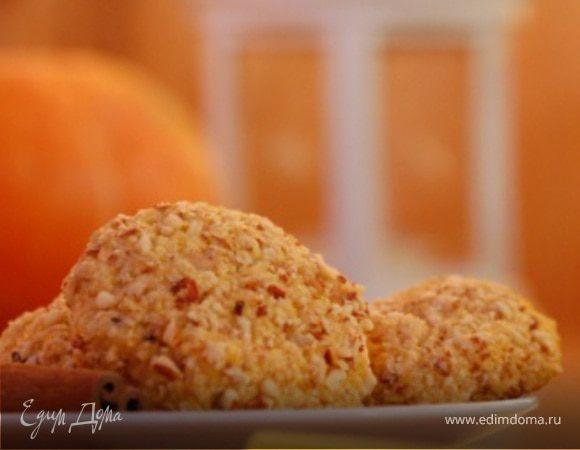 Тыквенное печенье «Эта пряно–шоколадная осень…»