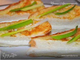 Горячие бутерброды с моцареллой