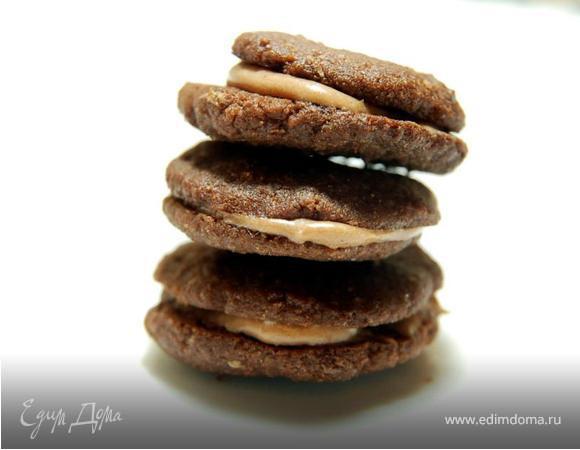 Шоколадно-кофейное печенье для взрослых с Бейлиз