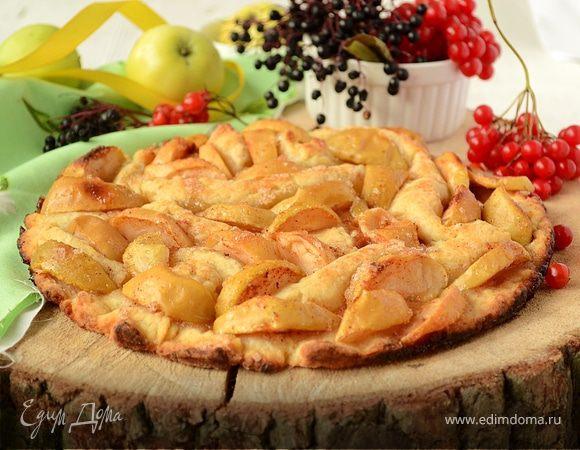 Мятый яблочный пирог