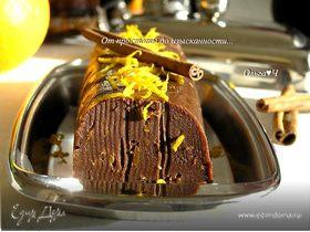 Шоколадное масло с корицей и апельсиновой цедрой