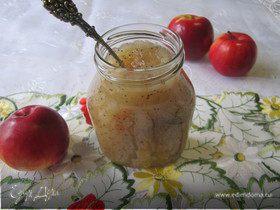 Грушево-яблочный джем с маком