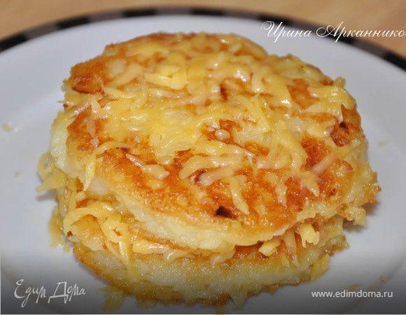 Картофельные биточки с сыром