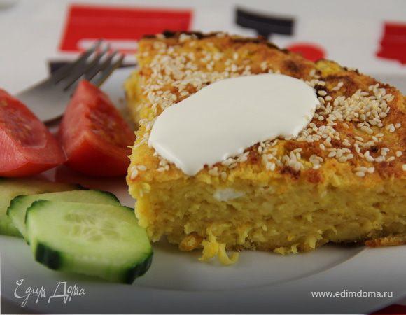 Запеканка из цукини и сыра в греческом стиле