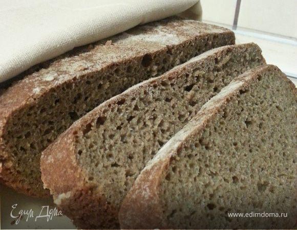 Немецкий ржаной хлеб с медом и кориандром
