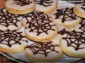 Лимонное печенье для Хэллоуина
