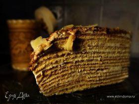 Мой любимый медовый торт