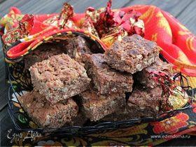 Злаковое печенье - клюквенное пряное и малиновое с розмарином