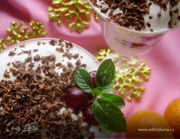 Десерт из чернослива и грецких орехов