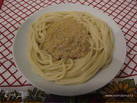 Подливка для спагетти по-милански