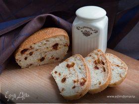 Хлеб с вялеными томатами и каперсами