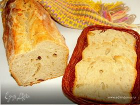 Трехдневный серый хлеб без дрожжей