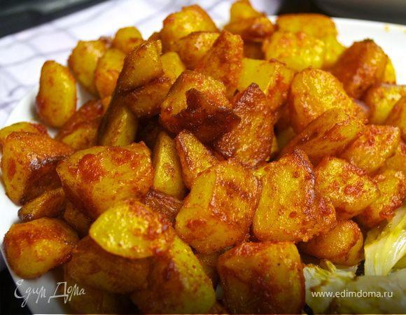 Картофель по-испански (Patatas bravas)