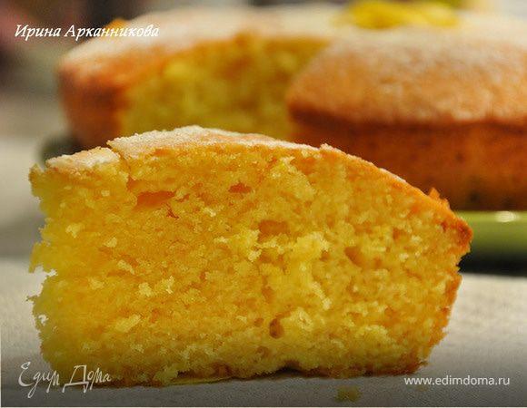 кекс с лимонной цедрой рецепт с фото