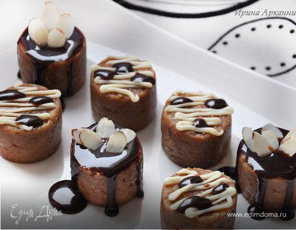 Коньячные мини-пирожные