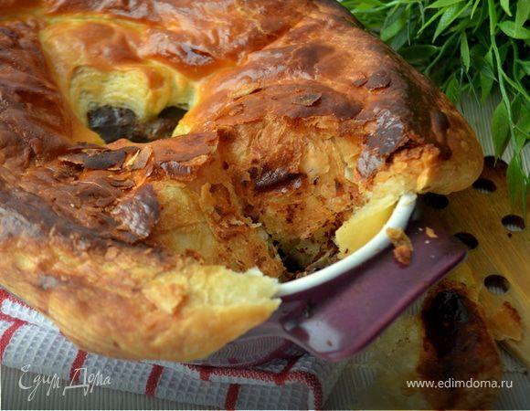 Английский пирог с говядиной от Юлии Высоцкой