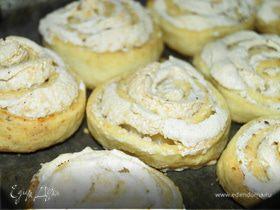 """Творожные булочки с начинкой """"Безе"""""""
