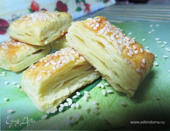 Слоеное картофельное печенье