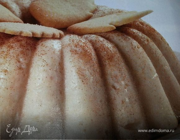 Флан из печенья