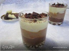 Тирамису «Три шоколада»