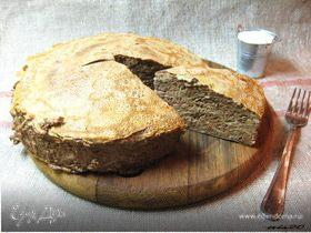 Печеночный блинный торт