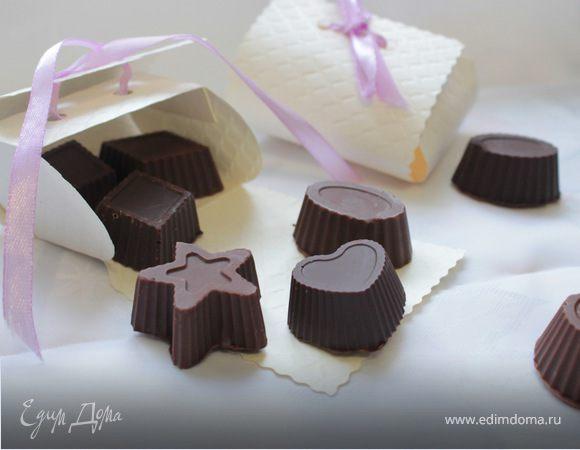Шоколадные конфеты с начинкой