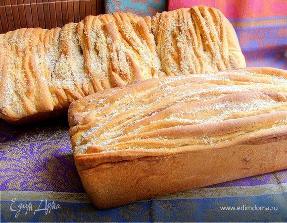 Молочный хлеб из цельнозерновой муки