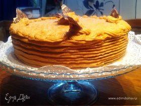 Карамельный торт от Фаркоса Вилмоса (Karamell torta)