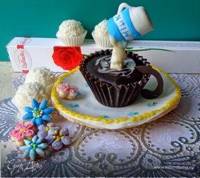 """Шоколадный десерт """"А не испить ли нам кофейку?"""""""