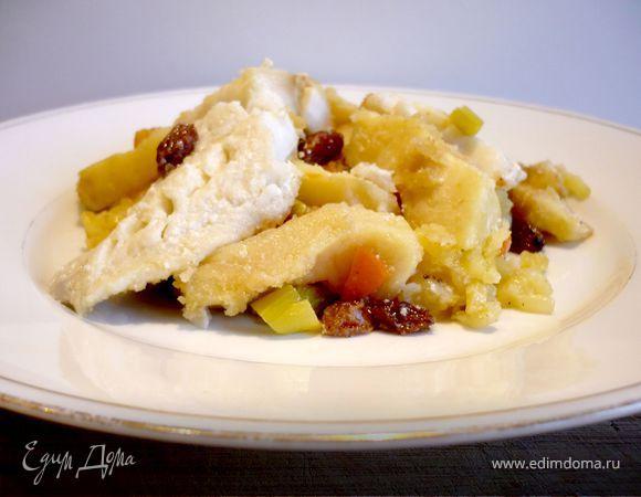 Рыбка с овощами «Хороши яблочки... освежают!»