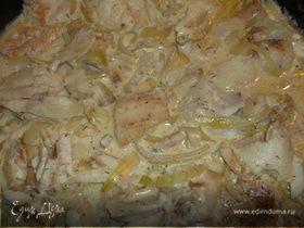 Рыбка в соусе из плавленых сырков