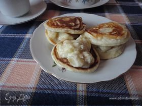 Cконы с бананами (Banana drop scones)