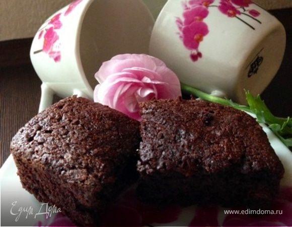Шоколадный кекс из картофеля без муки
