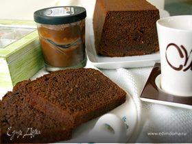 Кекс на шоколадно-ореховой пасте