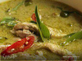 Курица в тайскoм зеленом карри