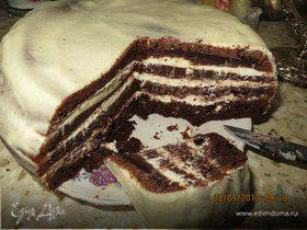 Ароматный шоколадный кекс