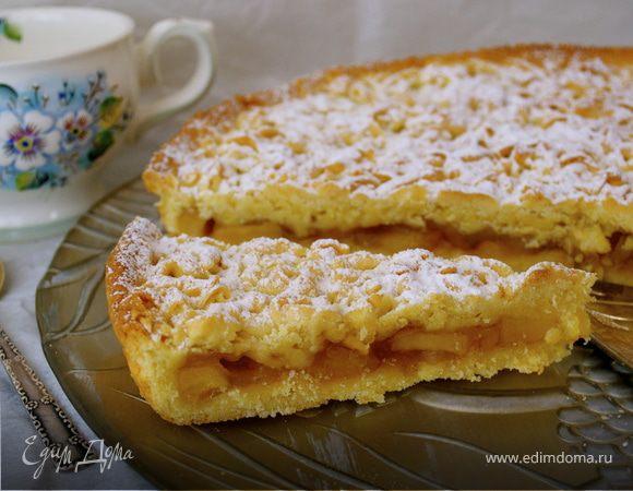 Яблочный пирог по-польски