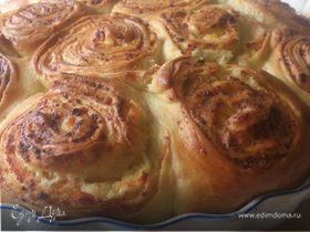 Месеница - болгарский пирог с брынзой